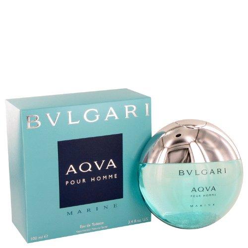 Bvlgari Aqua Marine by Bvlgari Men's Eau De Toilette Spray 3.4 oz - 100% Authentic by Bvlgari