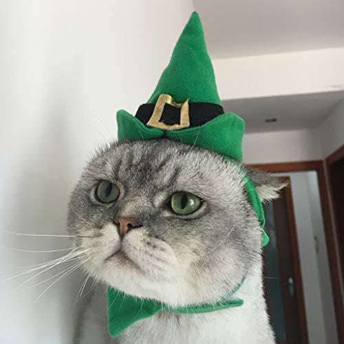 EcLife Haustiermütze für Halloween, Weihnachten, Kopfbedeckung, Maskottchen, Kostüm, Katzen, Welpen, Party, Cosplay, Ornament