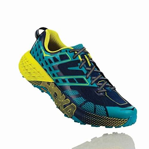 Hoka Speedgoat 2, Scarpe Trail-Running Uomo, CaribbeanSea/BlueDepths, 42 EU