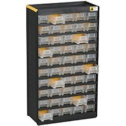 Allit Kleinteilmagazin, 1 Stück, schwarz, gelb, 465130