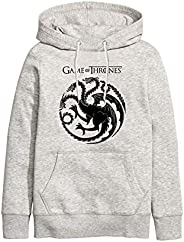 ART T-SHIRT-Game Of Thrones Dragon Unisex Kapüşonlu Sweathirt