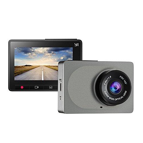 "YI Cámara de Coche 1080P DVR Dashcam Utra HD WiFi Inalámbrico WDR Visión Nocturna Detección de Movimiento Grabación de Emergencia Lente de Gran Ángulo con 2.7"" Pantalla LCD"