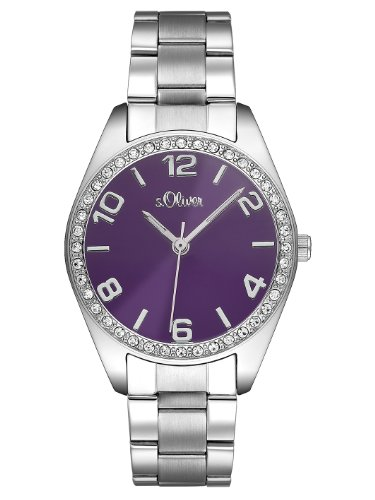 s.Oliver Women's Quartz Watch s.Oliver SO-2279-MQ with Metal Strap