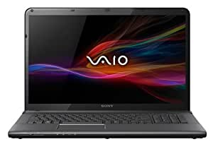 Sony VAIO SVE1713X1EB 43,9 cm (17,3 Zoll) Notebook (Intel Core i7 3632QM, 2,2GHz, 8GB RAM, 750GB HDD, AMD HD 7650M (2GB), Blu-ray, Win 8) schwarz