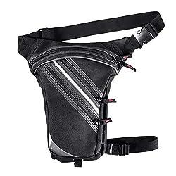 Quiet.T Beintasche wasserdichte Geeignet für Reise, Sport & alle Outdoor Aktivitäten, Beintasche für Damen und Herren, Beintasche Wasserdicht Hüfttaschen für Running