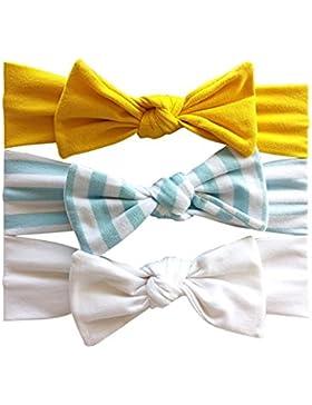 3 pezzi / set fasce ,Brightup Fascia per capelli ragazza per neonati, bambini e bambini