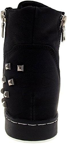 Maxstar  20H-7H-TC, Chaussons montants femme Noir - noir