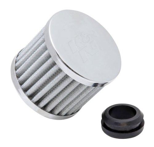 K & N 62-1590WT Vent Air Filter/Entlüfter Verschnaufpause 2,5cm flg W/2,5cm-1/4GRMT; 7,6cm OD X 2-3/8H (Universal Air Filter) -