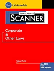 Scanner-Corporate & Other Laws (CA-Intermediate)(For November 2018 Exams-As per New Syllabus)