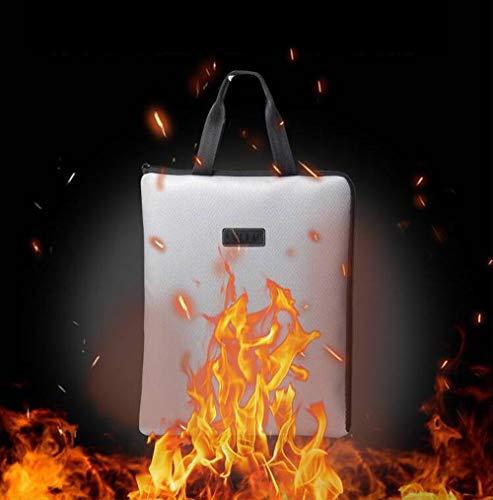 Feuerfeste Dokumententasche, feuerfest, wasserfest, für Dokumente, Geld, Reisepass und Wertsachen, Laptop-Tasche (35,6 x 29,2 cm)
