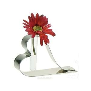 Vase Soliflore coeur inox