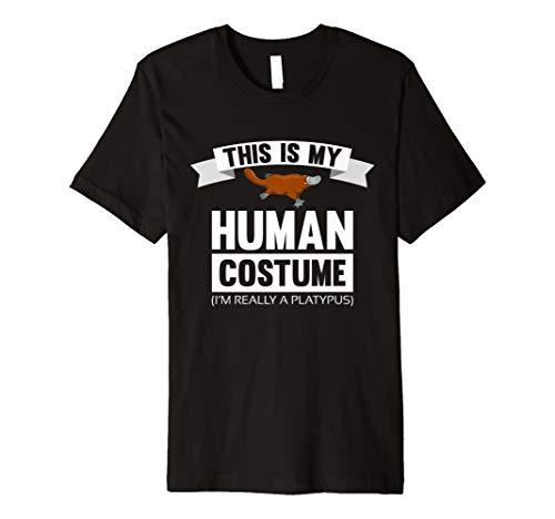 This Is My Echthaar Kostüm Ich bin wirklich ein Schnabeltier Shirt