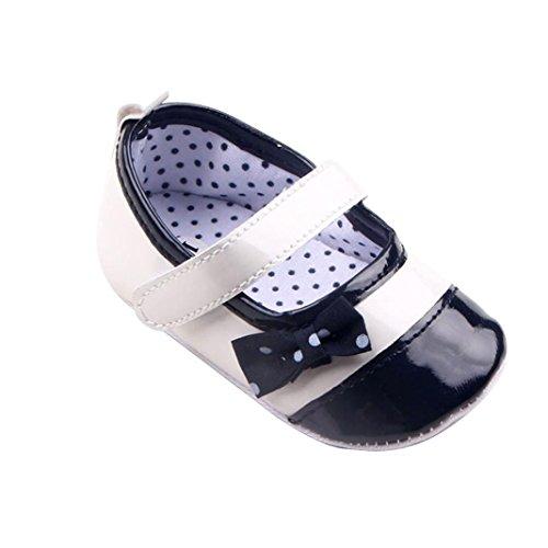 Chaussures Bébé,Fulltime® Bébés nouveau-né Toddler PU cuir Sole Crib Shoes
