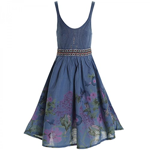 BEZLIT BEZLIT Mädchen Kinder Spitze Kleid Peticoat Fest Kleider Sommerkleid Kostüm 20423 Dunkelblau Größe 104