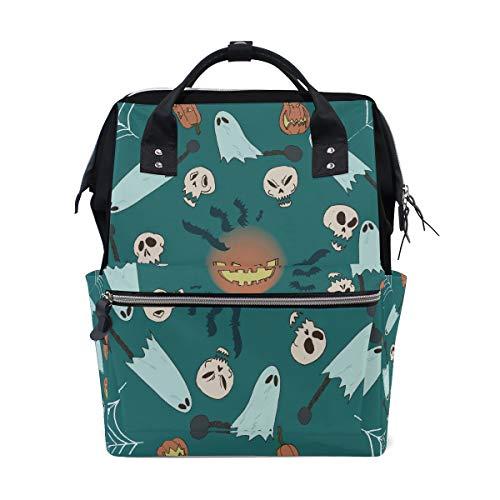 n Schädel Große Kapazität Windel Taschen Mummy Rucksack Multi Funktionen Wickeltasche Tasche Handtasche Für Kinder Babypflege Reise Täglichen Frauen ()