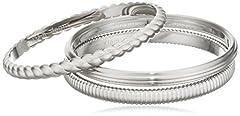 Idea Regalo - Calvin Klein Bracciali Donna, acciaio inossidabile, 26 cm