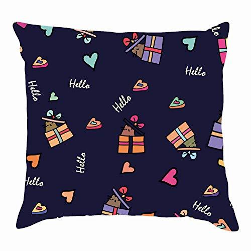 tuyi Funny Cats Animals Wildlife Vector Throw Pillow Covers Cotton Linen Cushion Cover Cases Pillowcases Sofa Home Decor 18