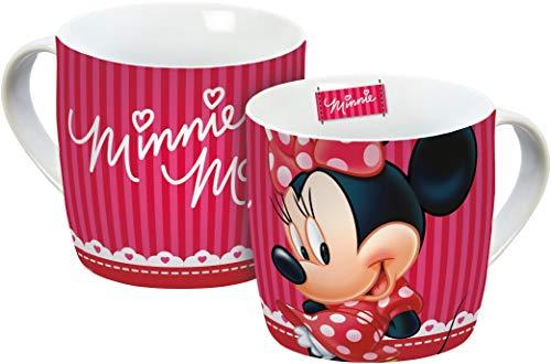 Disney Minnie Mouse 14700Taza, Taza de porcelana, taza de café, taza, multicolor