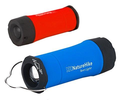 Preisvergleich Produktbild Naturehike Camping Lampe Tent Lamp Flashlight Im Freien Taschenlampen(Blue)