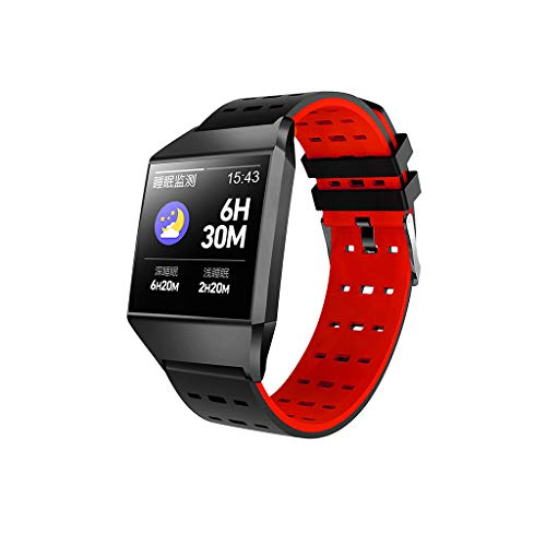 Bluetooth Smartwatch, Elospy Fitness Tracker Sport Uhr 1.3 Zoll Smart Watch mit IP68 Wasserdicht Herzfrequenz Blutdruckmessung Schrittzähler Stiller Wecker mit iOS Android für Damen Herren