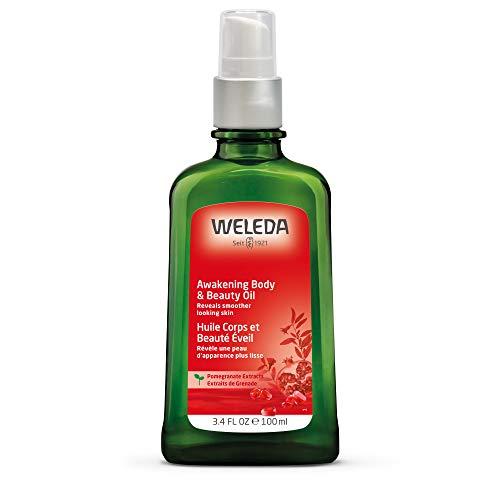 WELEDA Granatapfel Regenerations-Öl, intensives Naturkosmetik Pflegeöl mit pflanzlichen Ölen für anspruchsvolle Haut, Körperöl zur Förderung der Zellerneuerung und Elastizität (1 x 100 ml) -