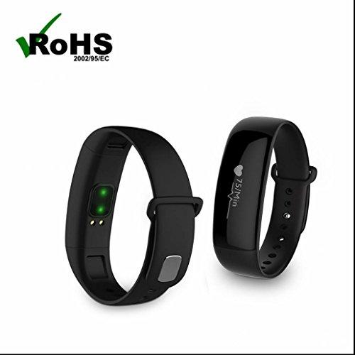 Fitness Tracker Bluetooth Smartwatch Verlustalarm Funktion Smart Armband uhr Nehmen Sie Fotos der Ferne Bester Schlafanalyse Hochwertiges Schrittzähler mit Android iOS System