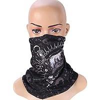 VORCOOL Deportes Headwear Bufanda Ciclismo al Aire Libre Headwrap pañuelos sin Costura mascarilla de absorción de Sudor Banda Ancha Venda Pulsera