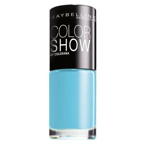Maybelline ColorShow Nagellack, Nr. 120 Urban Turquoise, bringt die Laufsteg-Trends aus New York auf...