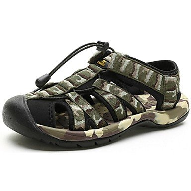 Camel Herren Komfort im Sommer SandalsFabric Outdoor Casual flache Schuhe Farbe army green Army Green