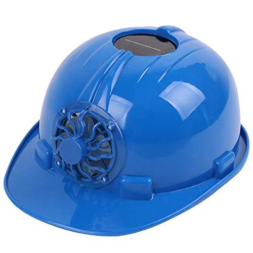 Aschatz_Hut Sommer Sonnenenergie Ventilator Helm Kappe, Outdoor Baustelle Fertigungsanlage Hut Kappe Mit Solar Sun Power Kühlerlüfter