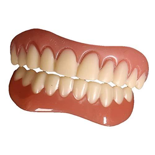 Set de maquillage de dents artificielles et cosmétiques - Contient à la fois des parties supérieure et inférieure