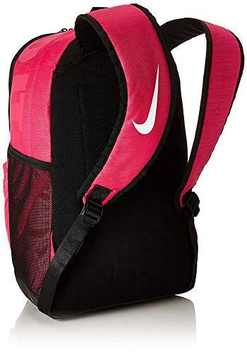 Nike Unisex Pink Polyester Brasilia Training Backpack Image 4