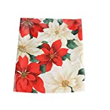fish Weihnachten Tischläufer Rot Obst Old Man Hut Kopf Claret Weiße Blumen Tischdecke Partei Abendessen Dekoration
