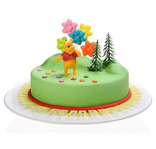 Kit PVC Décor Winnie L'Ourson - Gateau Anniversaire Decoration - 196