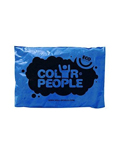 Color People - 10 Sachets De Poudre Colorée Holi Bleu Roi