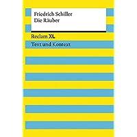 Die Räuber: Reclam XL – Text und Kontext