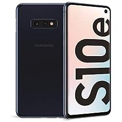 "Samsung Galaxy S10e Display 5.8"", 128 GB Espandibili, RAM 6 GB, Batteria 3100 mAh, 4G, Dual SIM Smartphone, Android 9 Pie [Versione Italiana] 2019, Nero (Prism Black)"