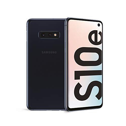 "Samsung Galaxy S10e Smartphone, Display 5.8"", 128 GB Espandibili, RAM 6 GB, Batteria 3100 mAh, Dual SIM, Android 9 Pie, Nero (Prism Black) [Versione Italiana]"