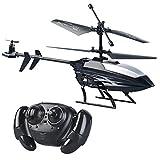 Simulus Hubschrauber-Flugzeug: Ferngesteuerter 3,5-Kanal-Mini-Hubschrauber mit 3 Rotoren und Gyroskop (Ferngesteuerte Mini-Helikopter)