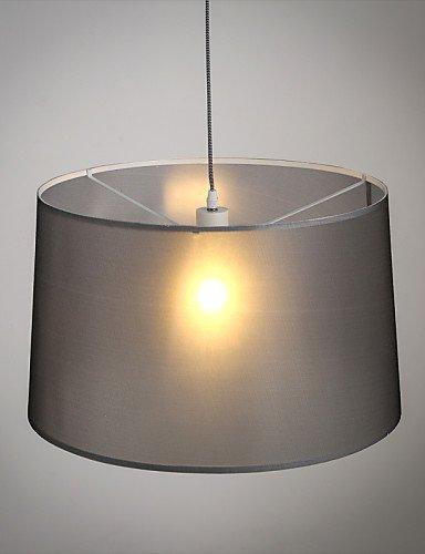 Modern Classic Black Metal Deckenleuchten Hängeleuchten deckenleuchten hängeleuchten Leuchten mit Stoff, Wohnzimmer Schlafzimmer Esszimmer Lampe 115V #7 -