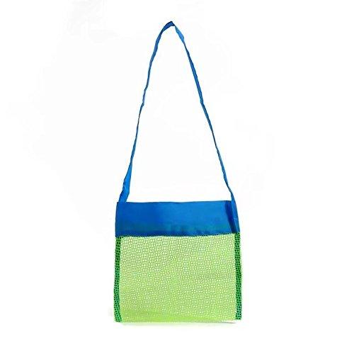 Kinder Aufbewahrungsnetz Aufbewahrung Netz Tasche für Sandspielzeug Strand Mode(Klein)