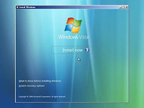 Windows Vista All Versions 32bit & 64 Bit Re-Install Repair Boot Format Master Disk DVD