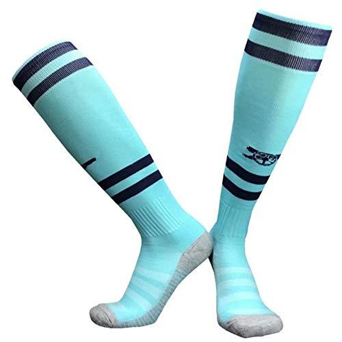 WADUANRUN Erwachsene Baumwolle Lang Fußball Socken für Männer und Frauen Erwachsener Fußball trifft Trainingsfeldsportsocken D hart