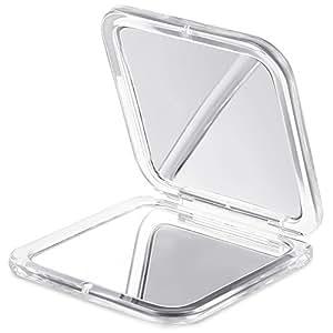 Jerrybox specchio tascabile con lente d 39 ingrandimento - Specchio con lente di ingrandimento ...