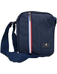 Tracolla uomo ARMATA DI MARE borsa blu bandoliera borsello multiscomparto ccb91ac78b9
