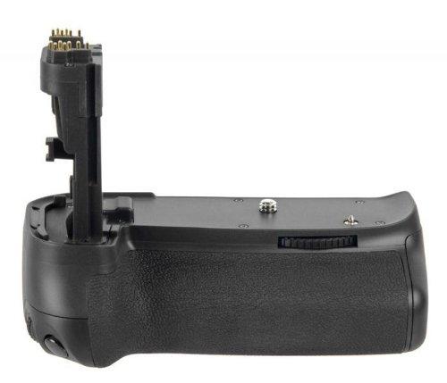 Profi Batteriegriff für Canon EOS 70D und EOS 80D - wie BG-E14 - inkl. Hochformatauslöser
