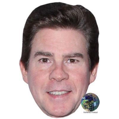 Celebrity Cutouts Ralph Garman Maske aus Karton