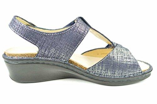 Finn Comfort  2660538297, Sandales pour femme Bleu