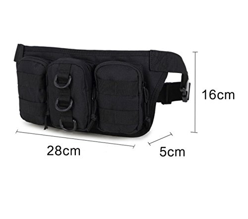 Triple-Taschen Outdoor-Sporttasche Multifunktions-Kessel Beutel Jogging Tarnung Tragbares Paket 3