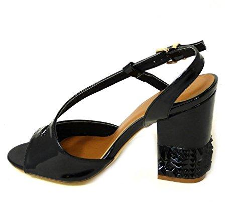 SKOS , Sandales pour femme Black (26583-10)